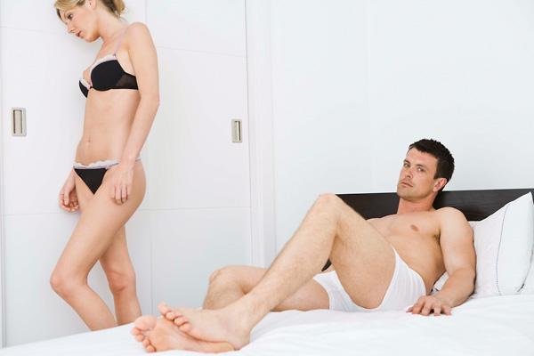 mit kell tenni, ha nem teljes pénisz-erekció