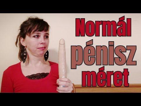 normál pénisz mérete)