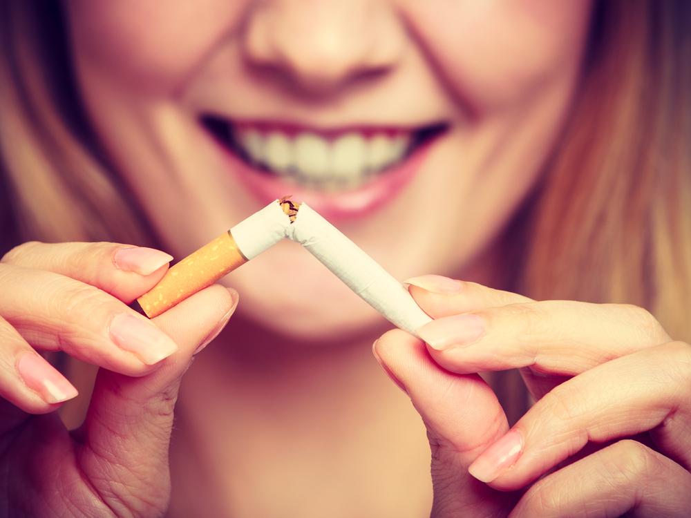 a dohányzásról való leszokás visszaállt