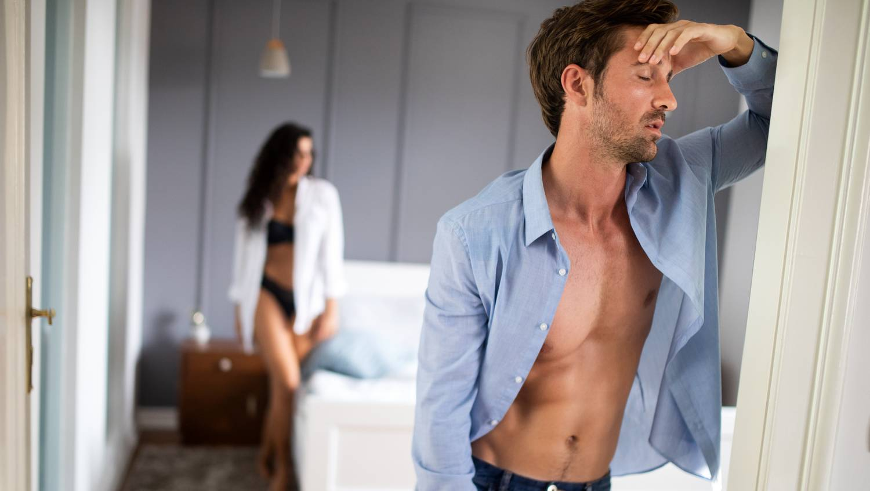 erekció a férfiak edzéséhez