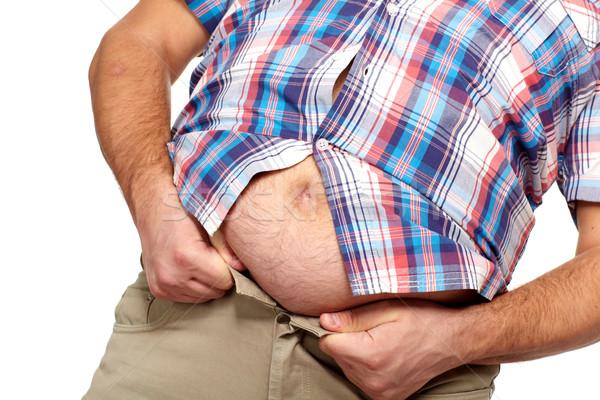 kövér, nagy péniszű férfi