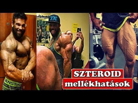 a szteroidok erekciós kúrája után