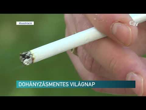 a dohányzásról való leszokás eltűnt)