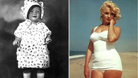 Exkluzív fotó! Pufók lányka volt egykor Marilyn Monroe - Világsztár   Femina