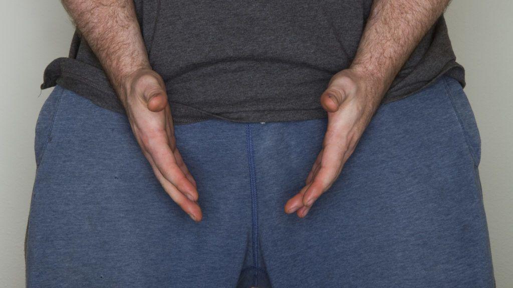 férfi törzs és pénisz erekciós kihívás