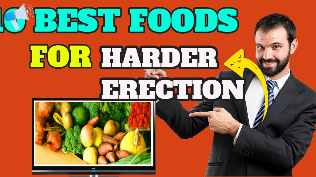 az erekciót javító ételek