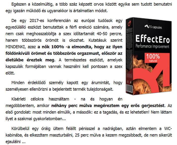 készítmények a hatékonyság és az erekció érdekében)