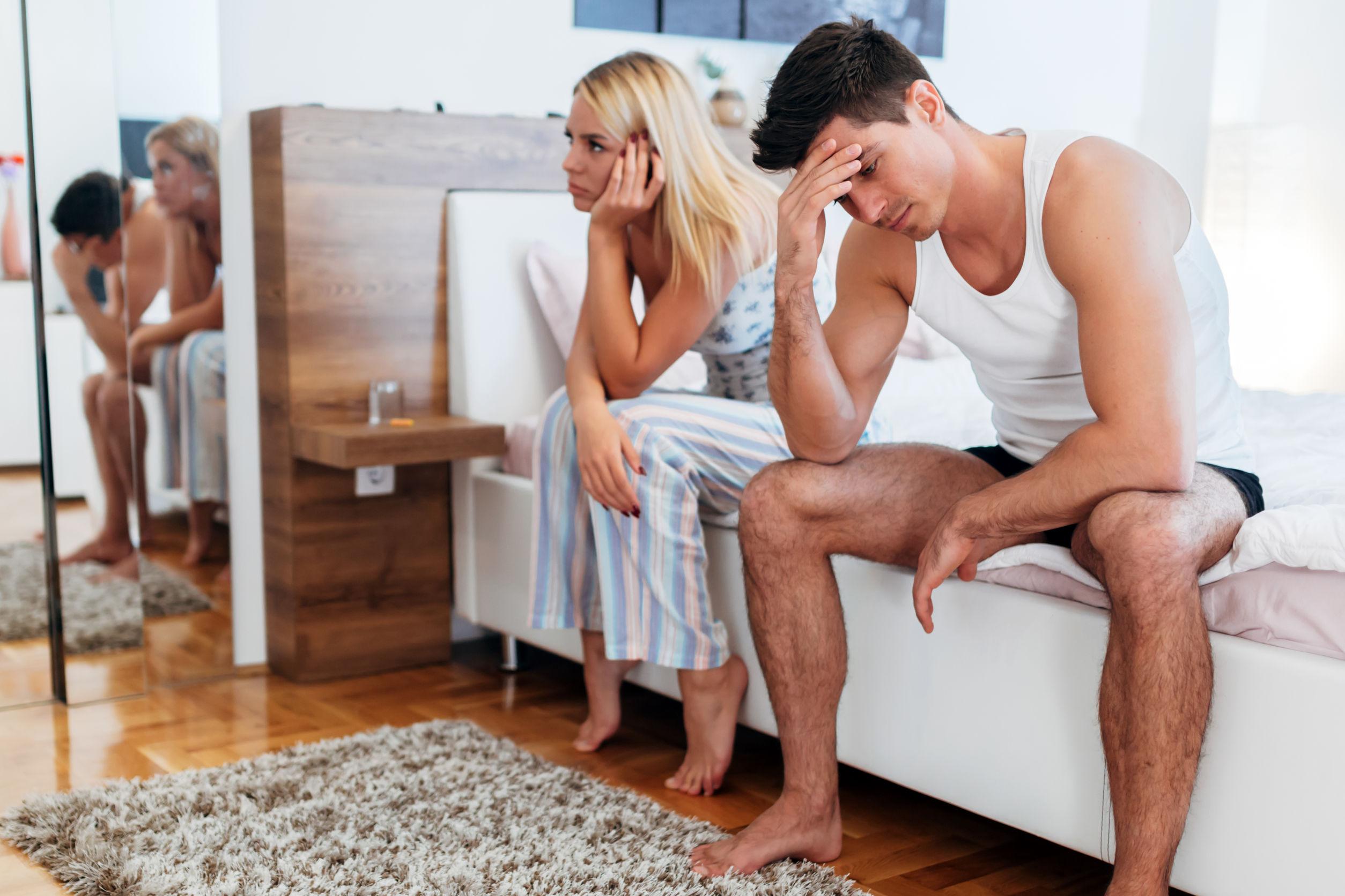 miért tűnik el egy merevedés egy lánnyal